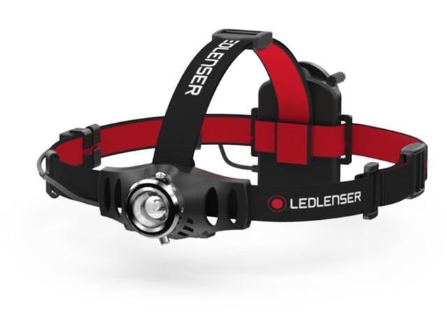 led lenser h6 lampe frontale black boutique de v los en. Black Bedroom Furniture Sets. Home Design Ideas